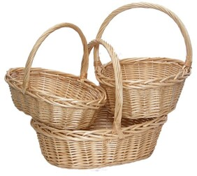 Small Oval Basket