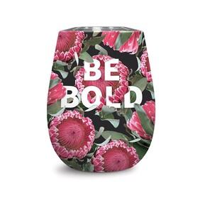 Insulated Wine Glass - Be Bold