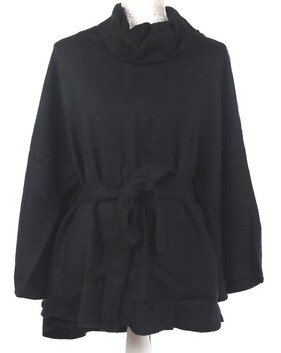Poncho with Belt