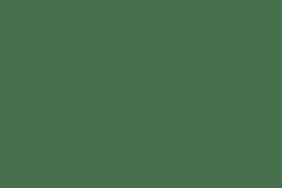Glass Vase - Dark Green Dots