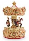 Musical Carousel with Canopy