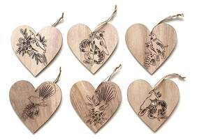 Heart Cut Out Ornament