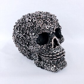 Nuts and Bolts Skull