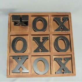 Large Wooden O&Xs