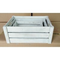 White Wooden Crate - X Large