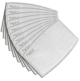 PM2.5 Mask Filters 10 Pack